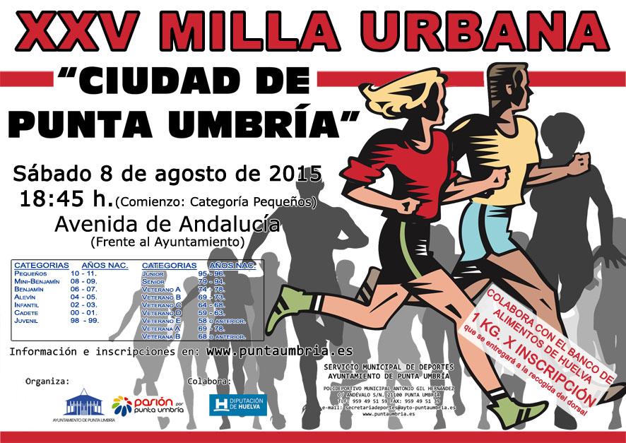 XXV Milla Urbana 'Ciudad de Punta Umbría'