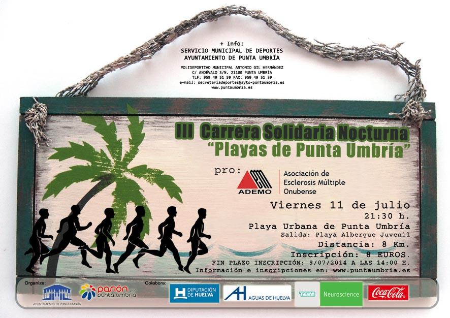 III Carrera Solidaria Nocturna 'Playas de Punta Umbría'