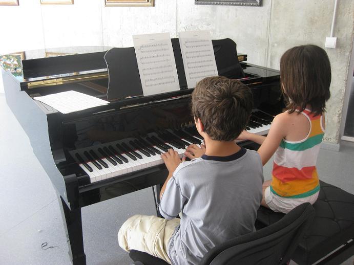 lecciones de piano gratis:
