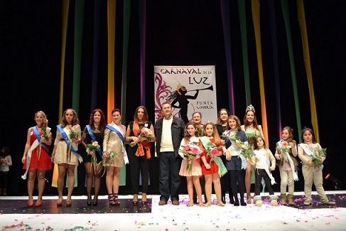 El Carnaval de la Luz 2013 proclamará mañana sábado reinas de la fiesta a Bella Martín y Rocío López
