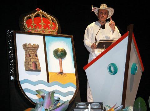 'La magia de febrero' inunda el Teatro del Mar en el inicio del Carnaval de la Luz